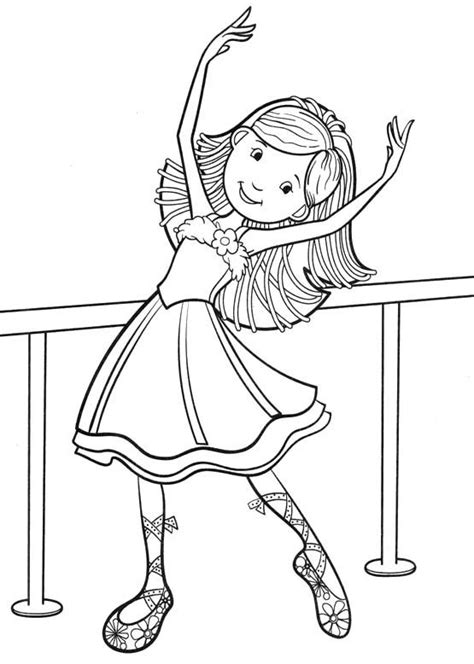 coloring pages dancing girl pinterest the world s catalog of ideas