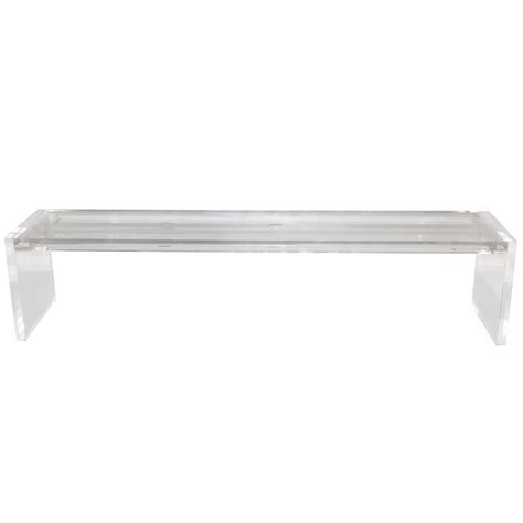 lucite bench for sale long lucite bench for sale at 1stdibs