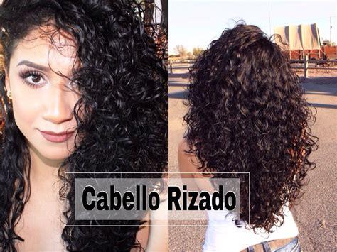 Rutina Completa De Cabello Rizado Facil Con Productos Peinados Pelo Medio Largo