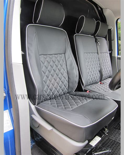 vw seat upholstery vw t5 seat covers diamond stitched black grey car seat