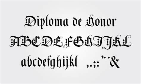 diseo de letras de diploma 10 tipos de letras para diplomas y certificados