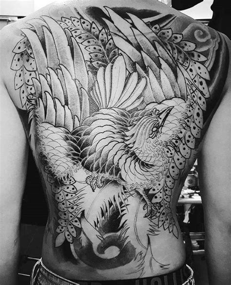japanese phoenix tattoo black and grey 50 japanese phoenix tattoo designs for men mythical ink