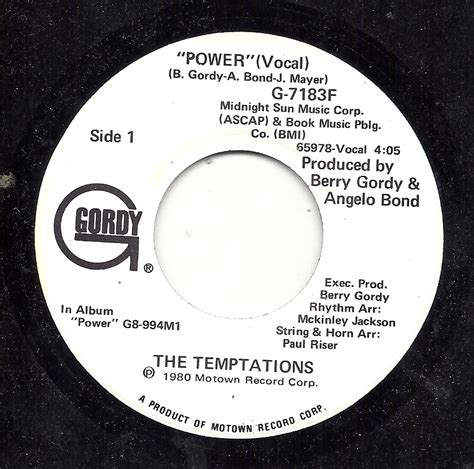 Piringan Hitam Vinyl The Temptations Power chapman records northern soul mod ska and motown originals vinyl cd patches badges and books