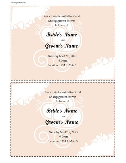 Office Baby Shower Invitation Templates Office Invitation Templates