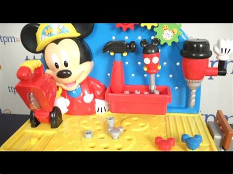mickey mouse clubhouse work bench mickey mouse clubhouse handy helper workbench from just