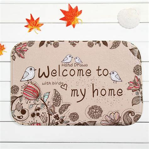 new listing modern design welcome to my home mat outdoor