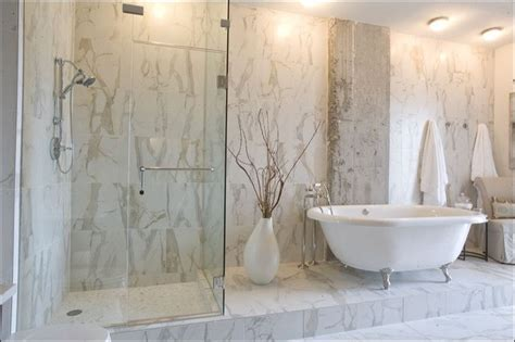 porcelain bathroom tile ideas calacatta porcelain tile contemporary bathroom