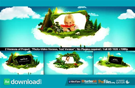 templates for after effects cs4 free download wonderworld videohive template free download free