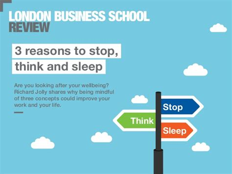 How To Stop Being A Sleeper by 3 Reasons To Stop Think Sleep Business School