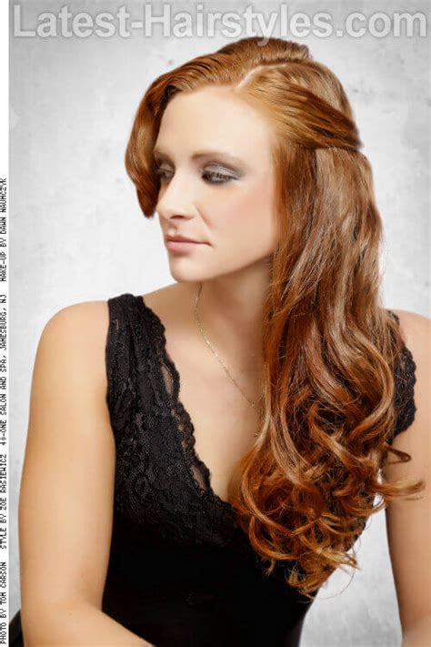 hairstyles with curls and volume revitalize your look 21 long hairstyles for spring