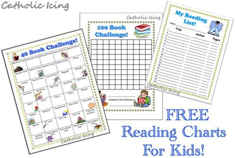 free printable reading reward charts free printable reading charts for kids school