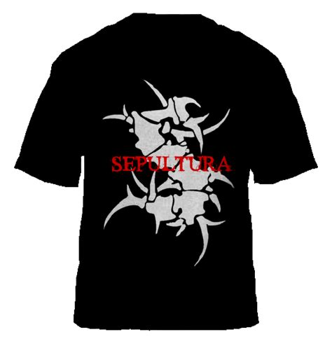 sepultura collections t shirts design