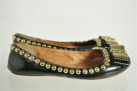 beaded flat shoes libza cbell black gold beaded slip on flat shoes size 7