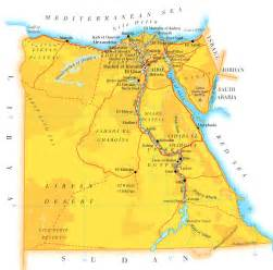 Egypt Map Africa by Egypt Map Pictures And Information
