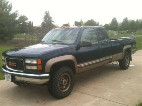 sell used 1995 gmc 2500 6 5l diesel box