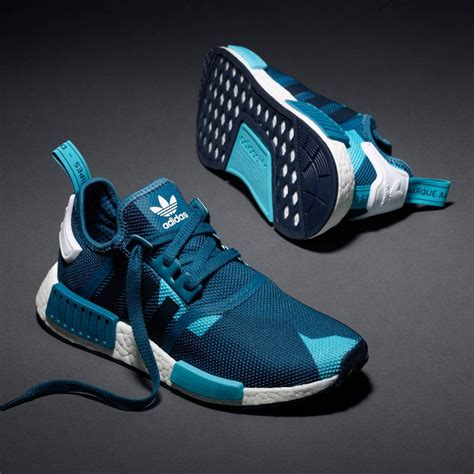 adidas nmd r1 w runner blanch blue collegiate navy