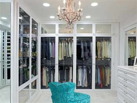 Closet With Glass Doors by 12 Steps To A Closet Decorating And Design Ideas