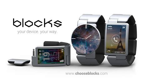 Smartwatch Blocks Blocks A Modular Smartwatch Will Run Tizen O S