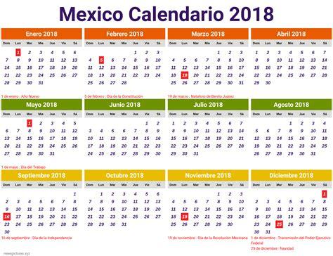 Korea Calendario 2018 Calendario 2018 Con Feriados Mexico Newspictures Xyz