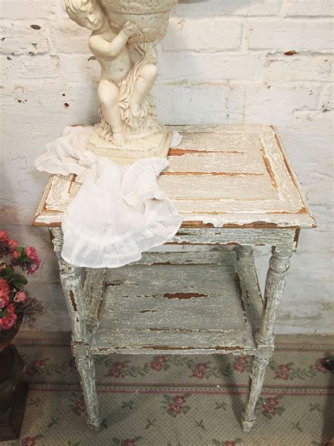 painted cottage chic shabby white romantic french lamp