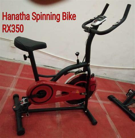 Alat Olahraga Sepeda Statis Spinning Bike Hanatha Gt2000 sepeda statis spinning hanatha