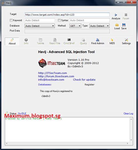full version software blogspot com maximum cyber download havij v 1 16 pro full version crack