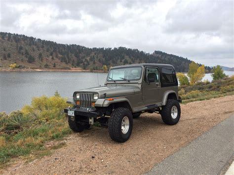 classic jeep wrangler 1990 jeep wrangler sahara sport utility 2 door 4 2l