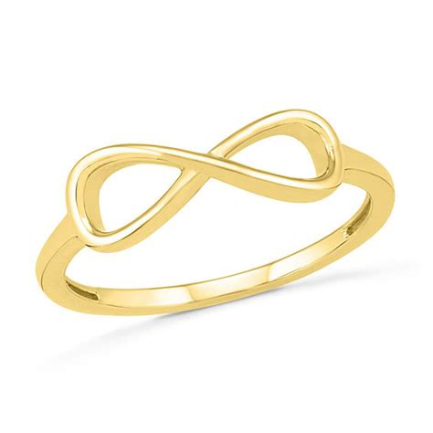 sideways infinity symbol sideways infinity ring in 10k gold exclusives