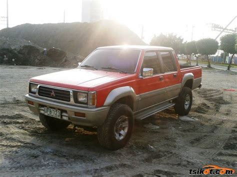 mitsubishi strada 1995 used strada trucks philippines autos post