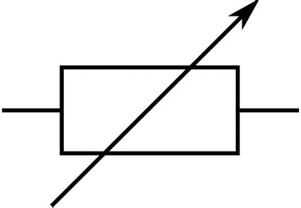 symbol for metal resistor rsa iec variable resistor symbol clip vector free