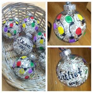 preschool christmas gifts thumbprint lights on a paper