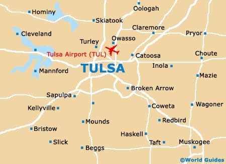 tulsa usa map tulsa maps and orientation tulsa oklahoma ok usa