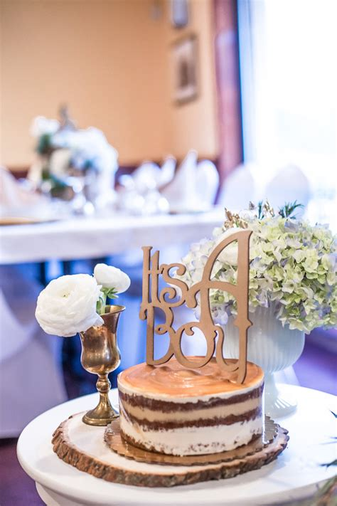 Chic Baby Shower by Kara S Ideas Blue Rustic Chic Baby Shower Kara S