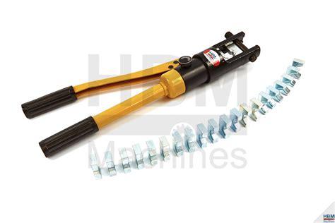 Kabel Skun Sc 300 16 300mm hbm 12 ton hydraulische krimptang 16 300 mm2 hbm machines