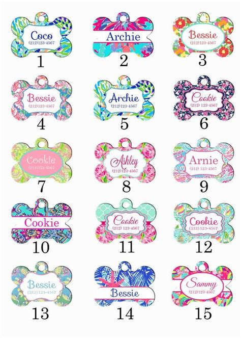 puppy name tags 25 best ideas about id tags on personalized tags pet accessories