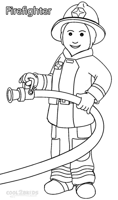 coloring pages community helpers preschool 11 best images about community helpers on pinterest