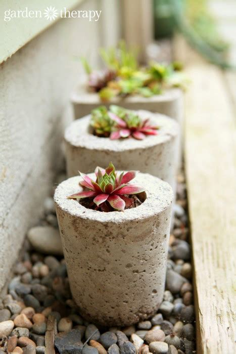 how to make cement planters how to make concrete planters