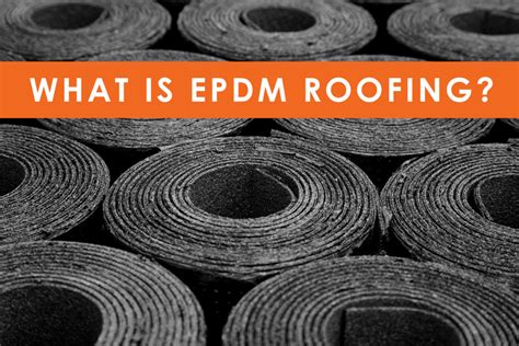 what is a rubber st what is epdm rubber roofing geissler roofing