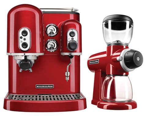 espresso machine kitchenaid kitchenaid kes2102 espresso machine candy apple red with