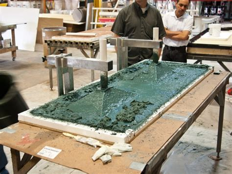 Gfrc Countertops by Four Backing Concrete Exchange