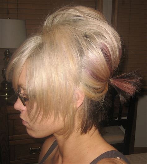 bump it hairstyles 5 bump it up 7 quick and easy hairstyles fashion