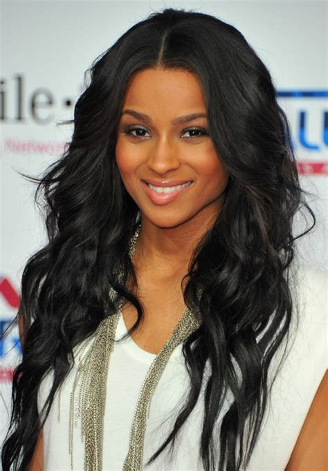 hairstyles for long curly black hair ciara long hairstyle black curly hair pretty designs