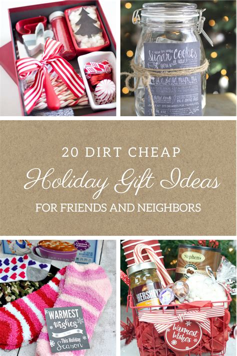 20 dirt cheap gifts for friends and neighbors moody mooch
