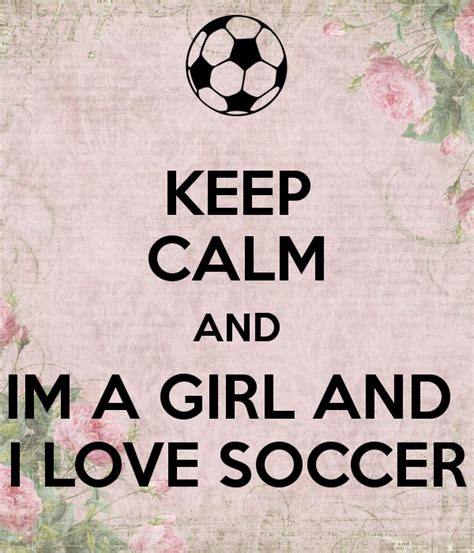 And Im by Keep Calm And Im A And I Soccer Poster Lola