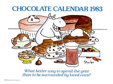 the sandra boynton calendar collection chocolate