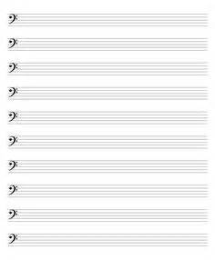 Blank Sheet Bass Clef by 1000 Images About Cello My Cello On Cello