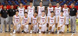 Basketball Team Batang Gilas Vs Japan In Fiba Asia U16 Quarterfinals