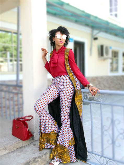 ankara trouser style ankara flare trousers how to wear ankara trousers