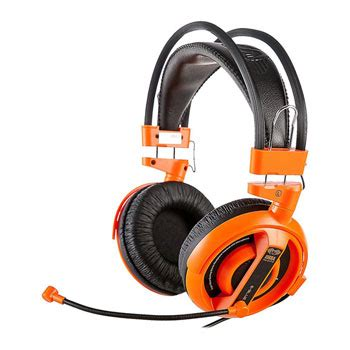Headset Gaming Cobra e blue cobra pro gaming headset orange ln62689 ehs013og
