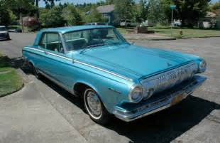 parked cars 1963 dodge polara 500 and bob